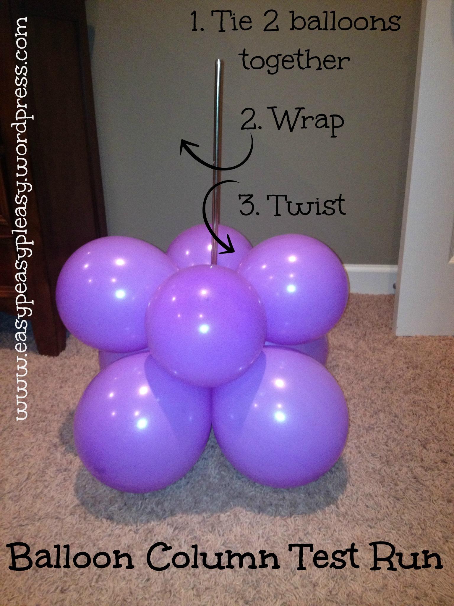 Diy balloon columns - All Things Dr Seuss A Little Of This A Little Of That Easy Peasy Pleasy