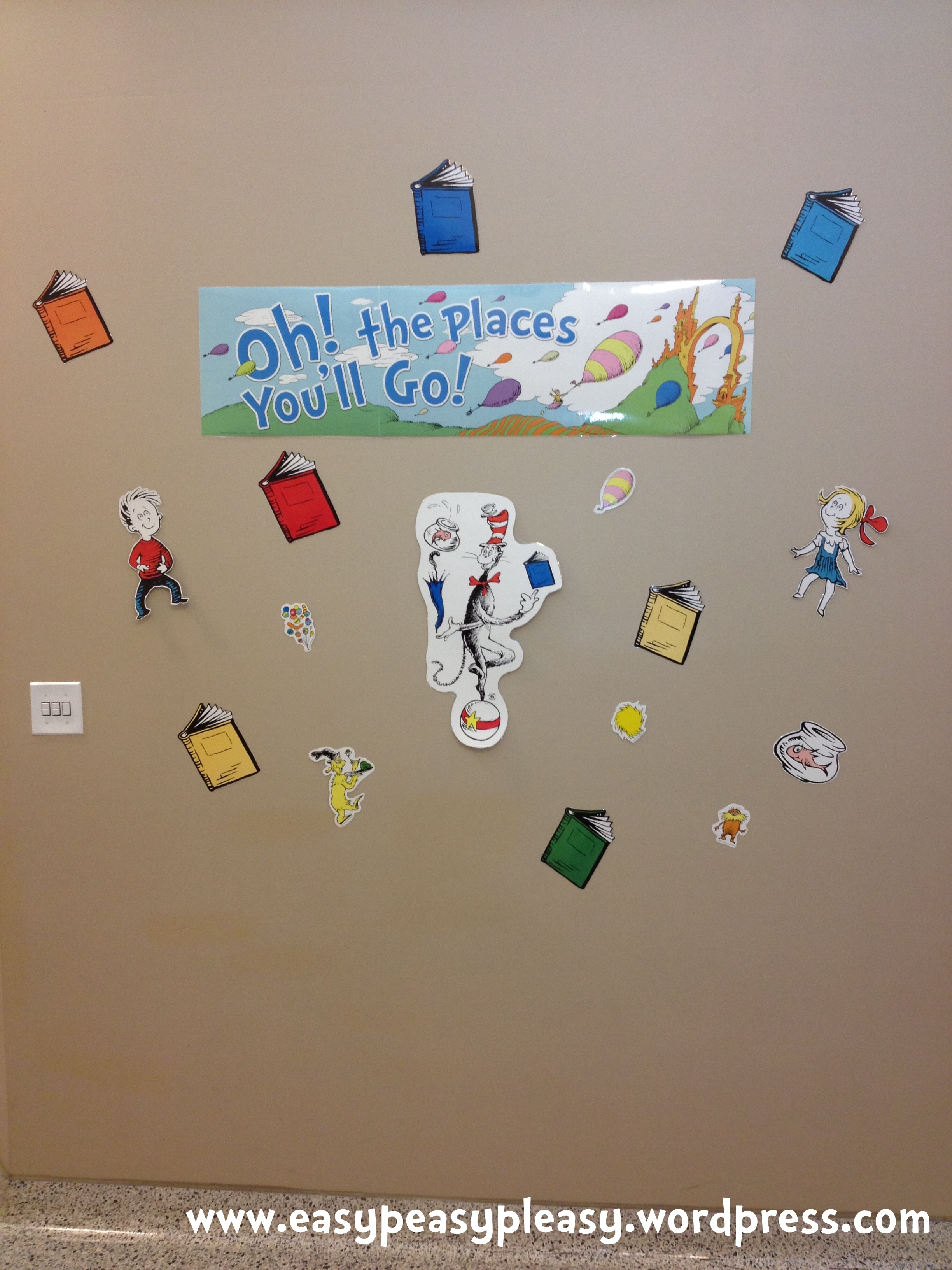 All Things Dr SeussHow Does Your Childs School Celebrate – Oh the Places You Ll Go Worksheets