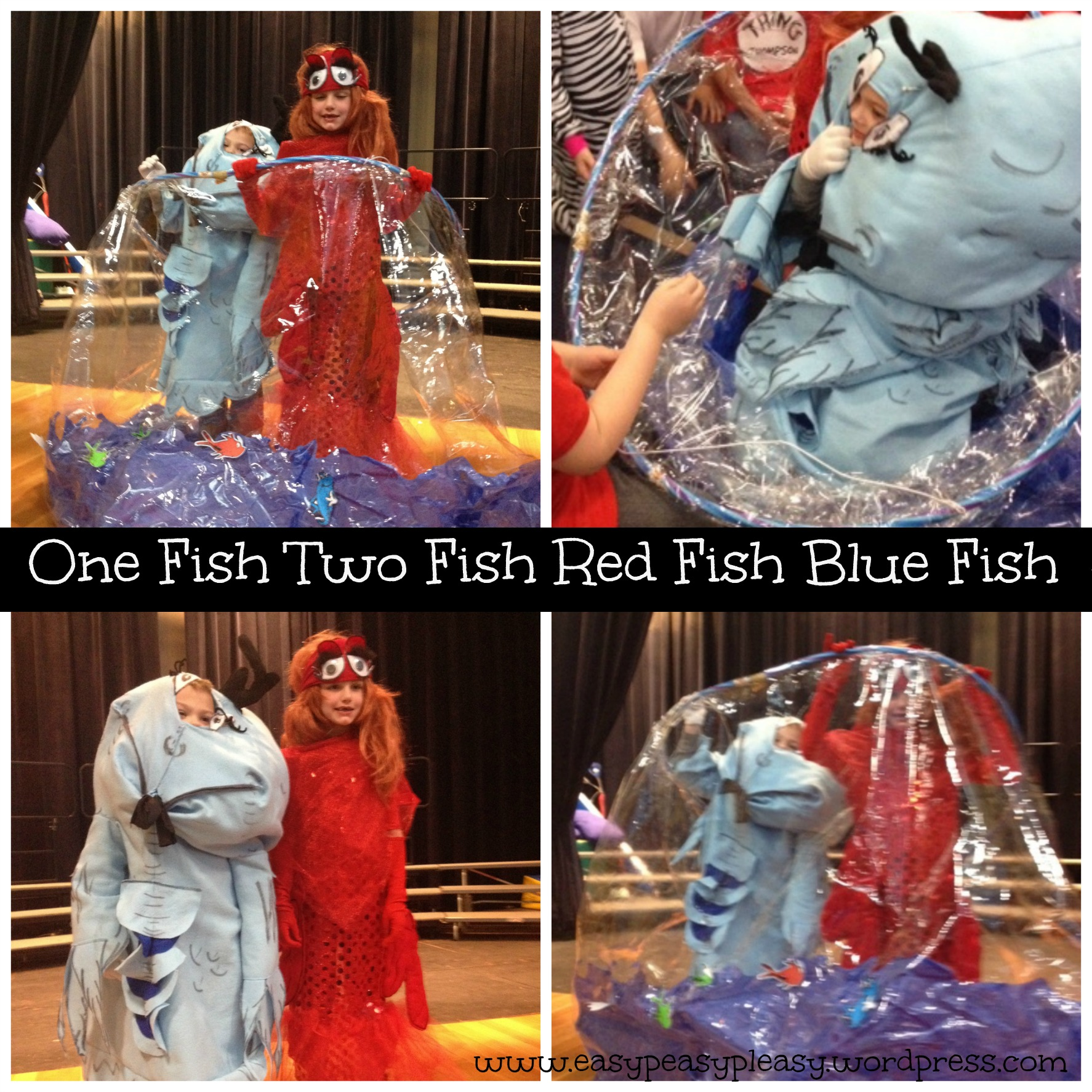 All things dr seuss a little of this a little of that for One fish two fish costume