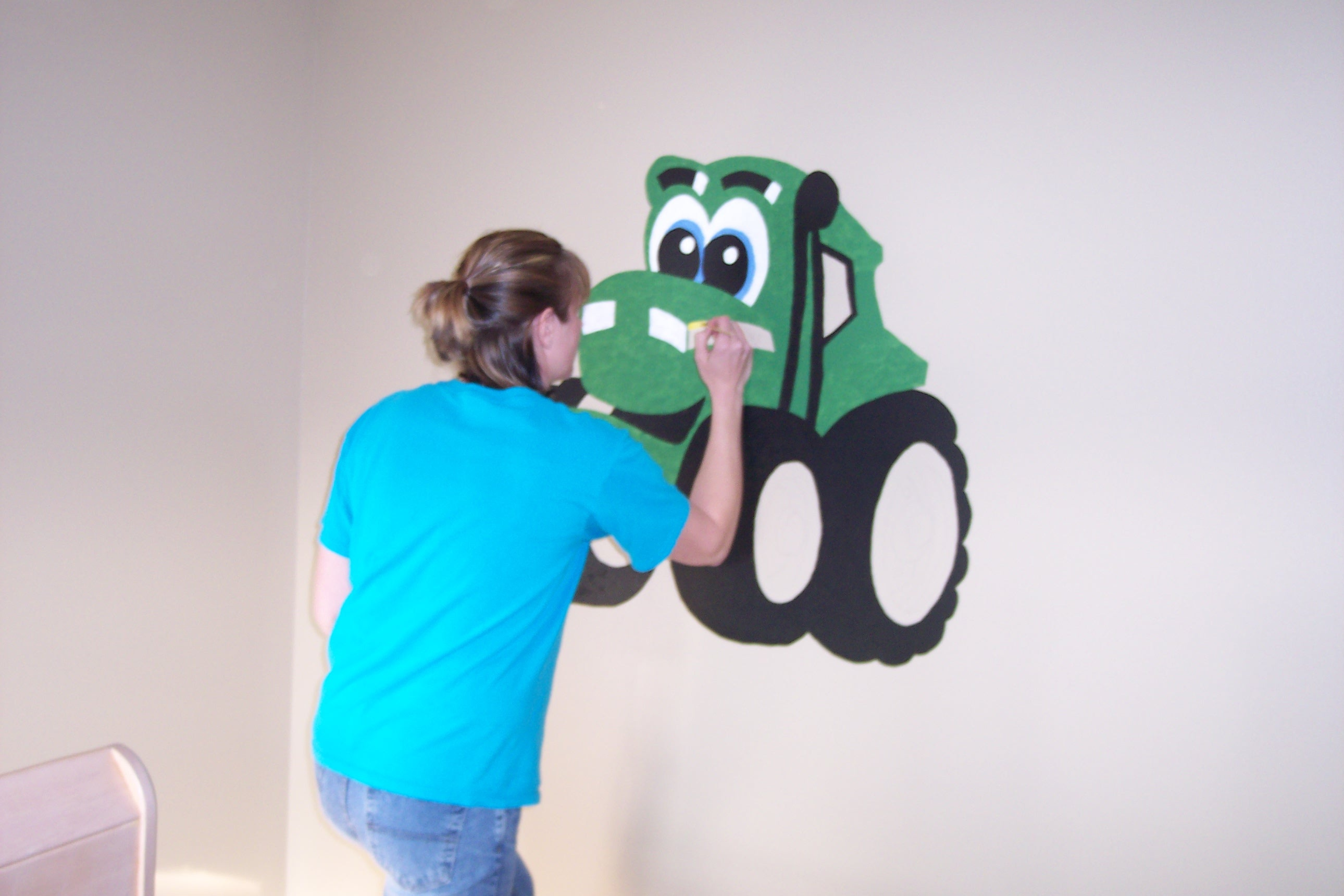 John Deere Wall Mural John Deere Nursery Easy Peasy Pleasy