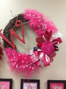 PTO Teachers Lounge Valentine wreath