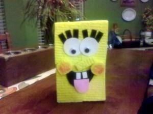 Spongebox Square Pants Valentine box