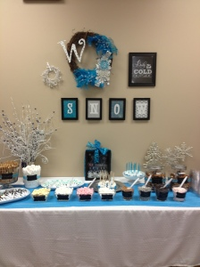 Teachers Lounge Winter Makeover