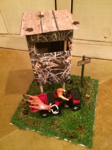 Valentine box deer stand