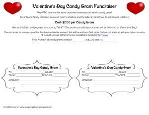 Valentine Candy Gram