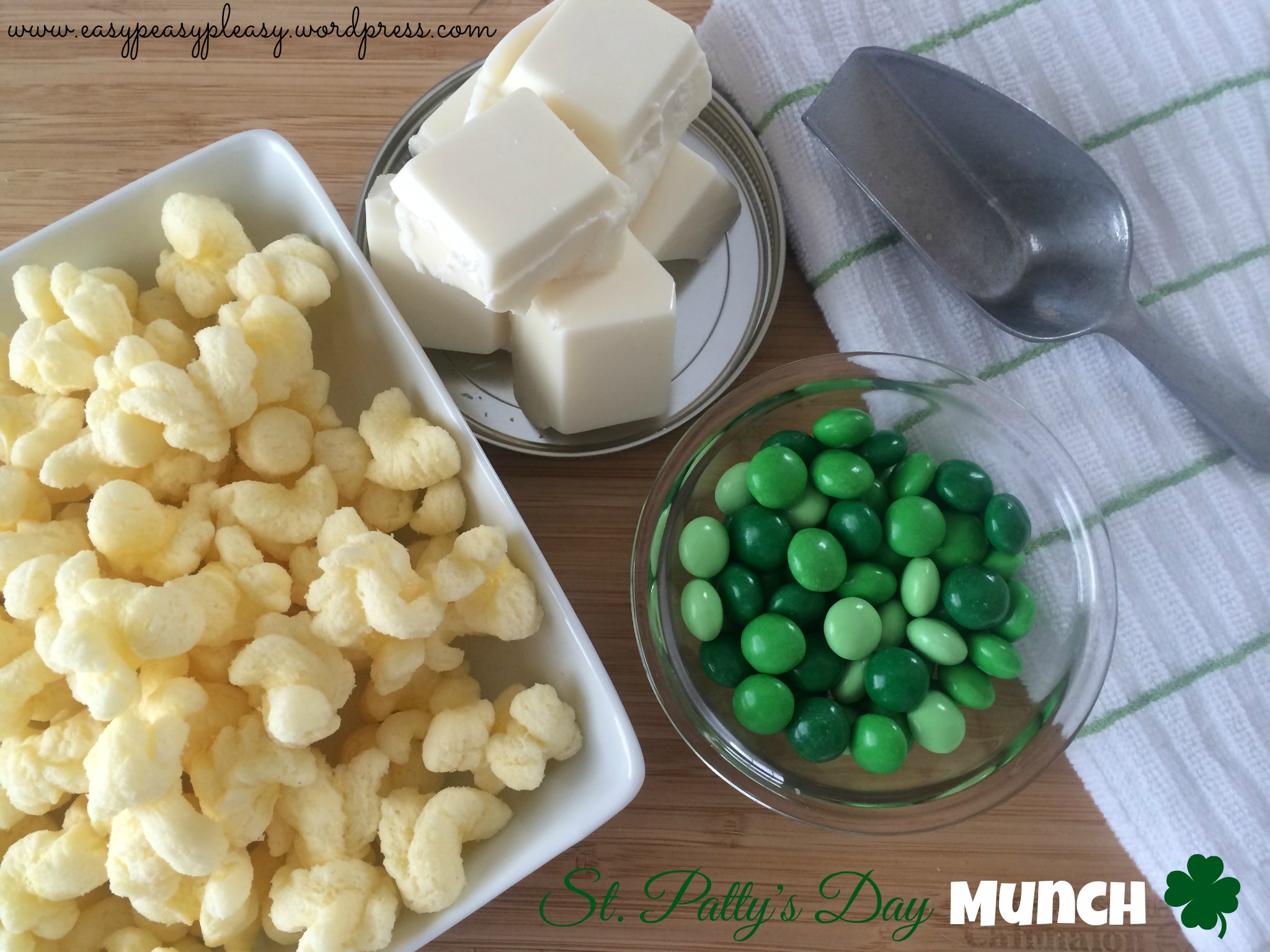 Easy St. Patrick's Day snack Idea at www.easypeasypleasy.wordpress.com