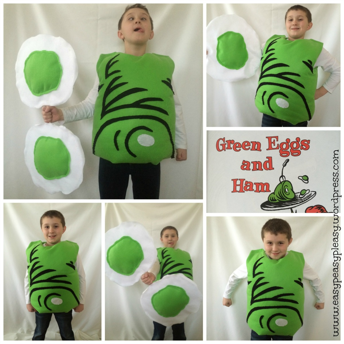 All Things Dr. Seuss-DIY Green Eggs and Ham Costume | Easy Peasy ...