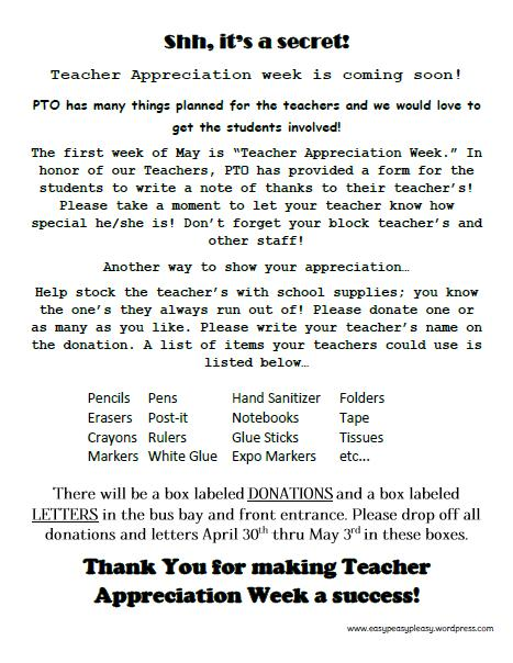 teacher appreciation letter from student