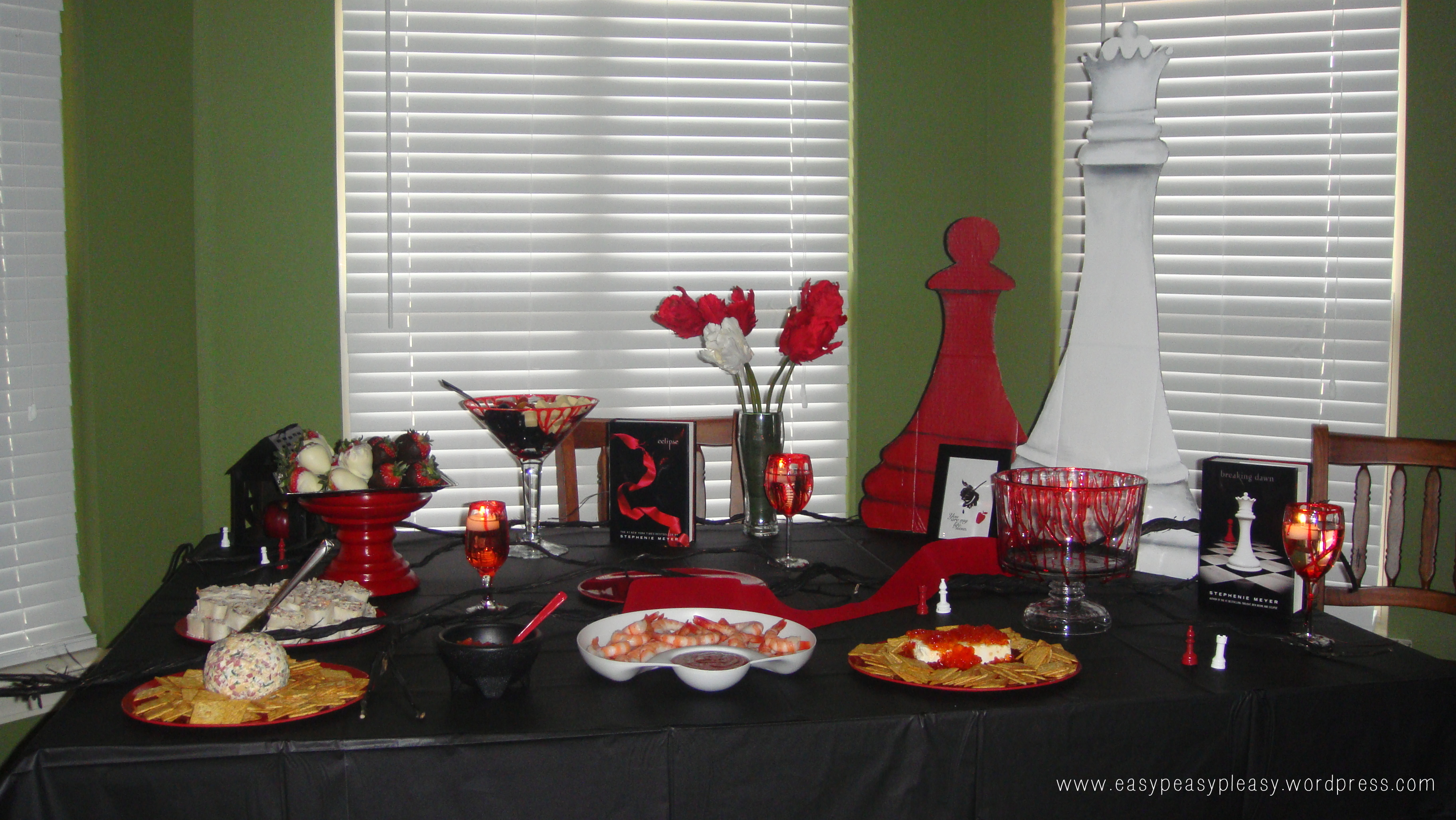 Twilight Party Food Table #TBT