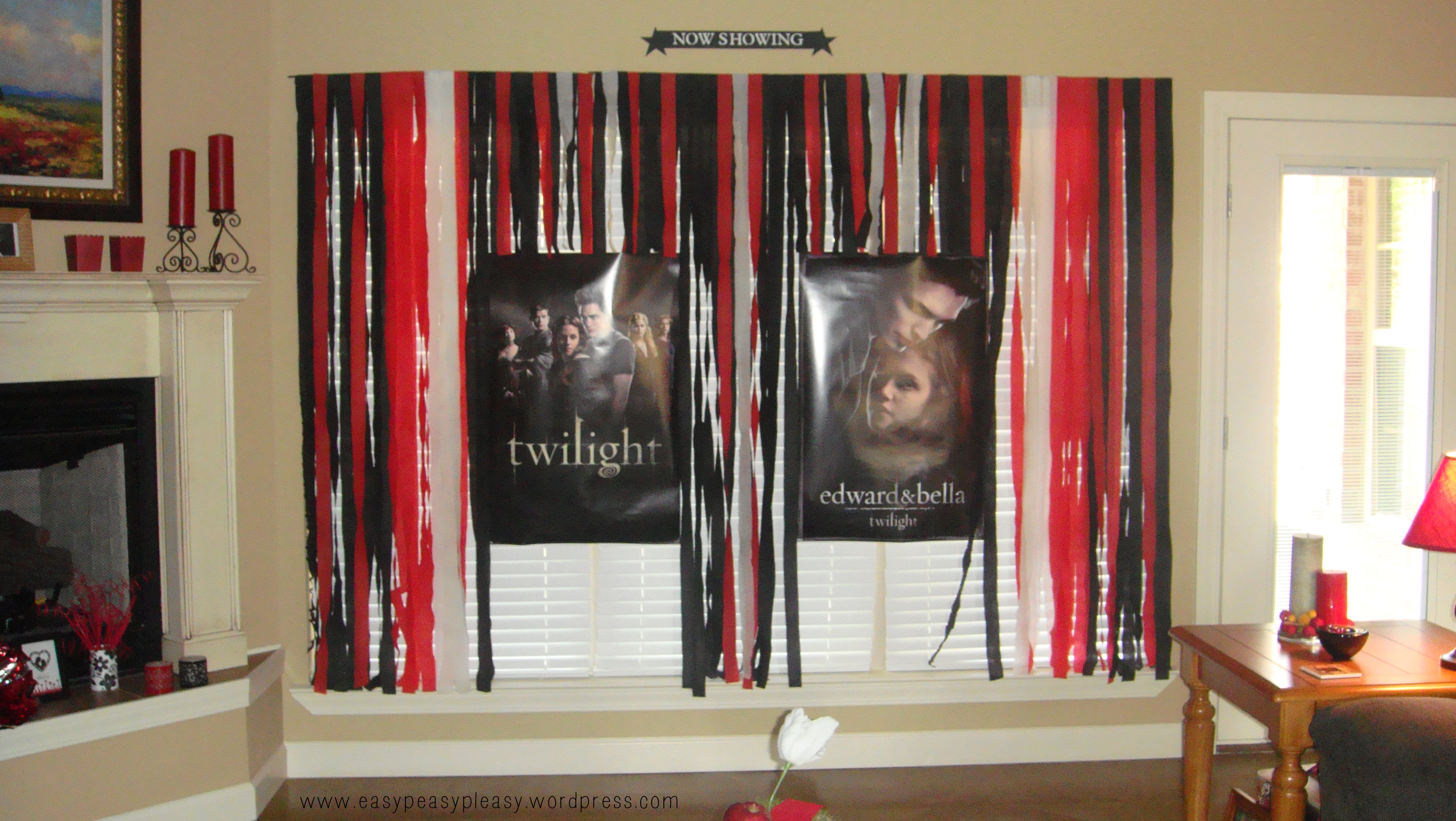 Twilight Party Now Showing Posters Marquee