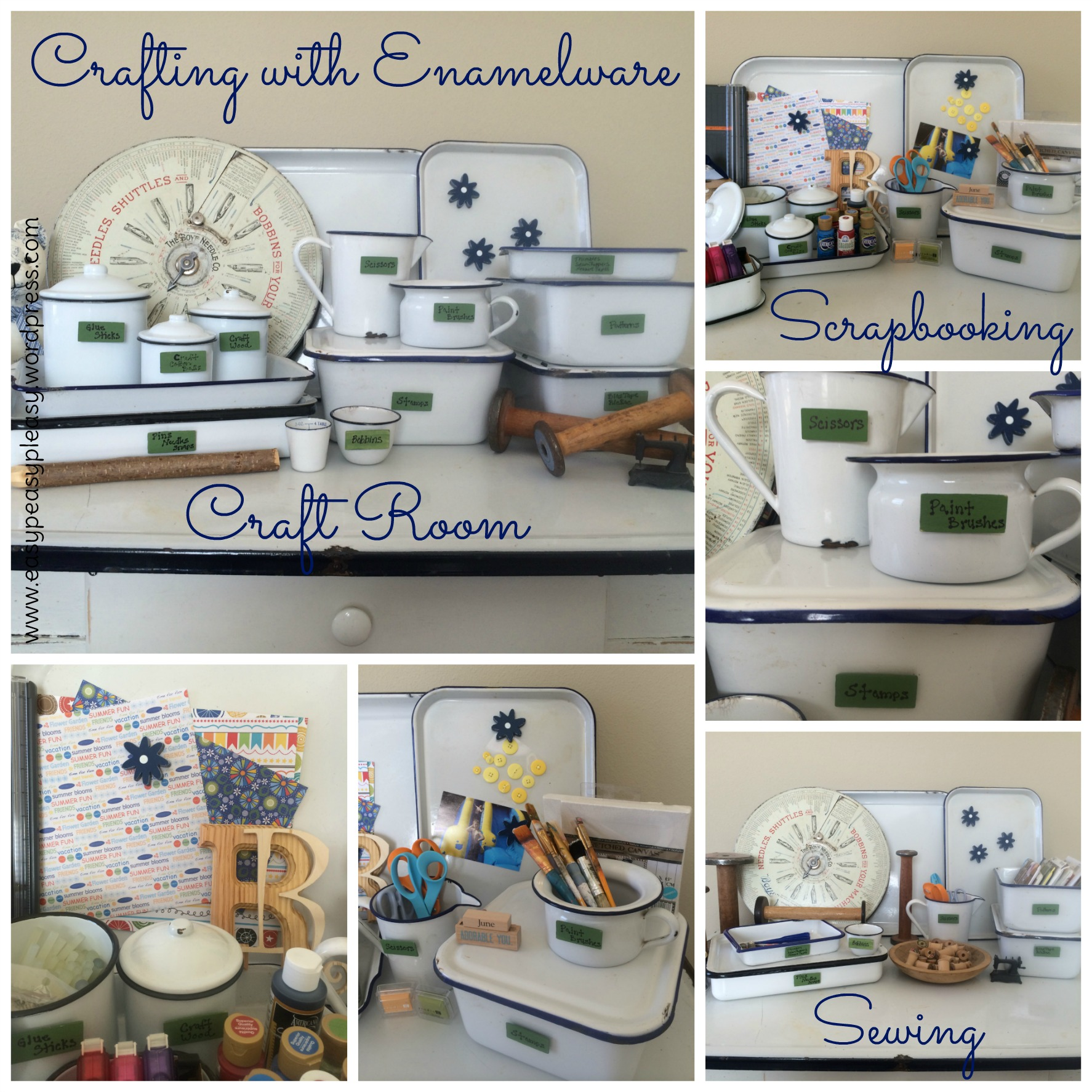 Vintage Kitchen Goods: My Enamelware Obsession