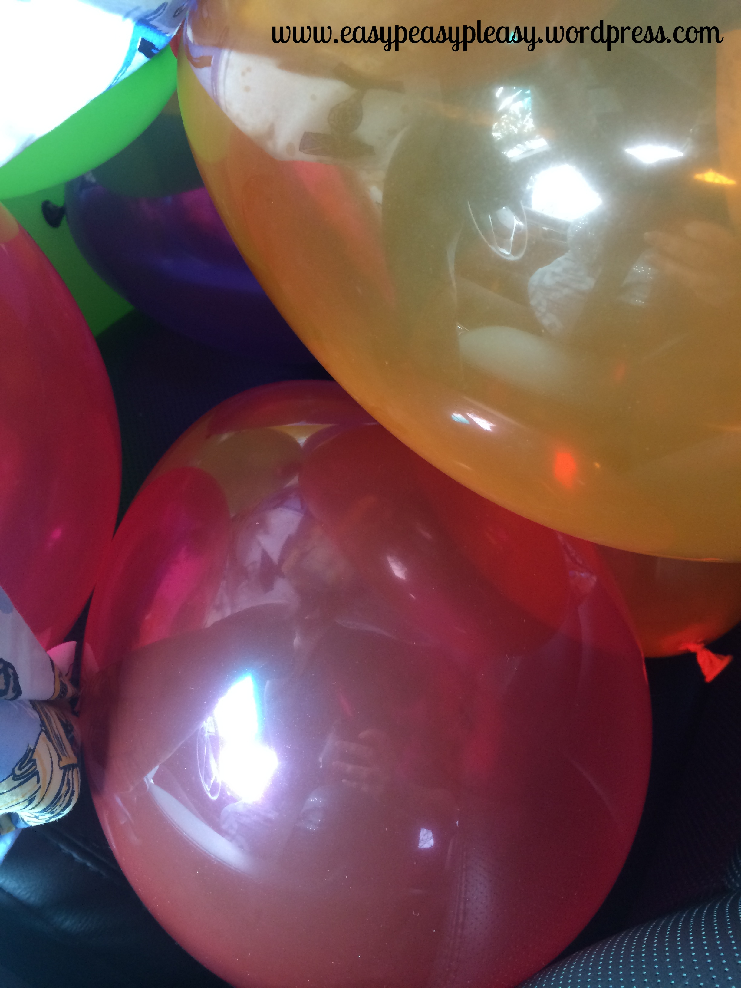 April Fools Day Prank War Helium Balloons