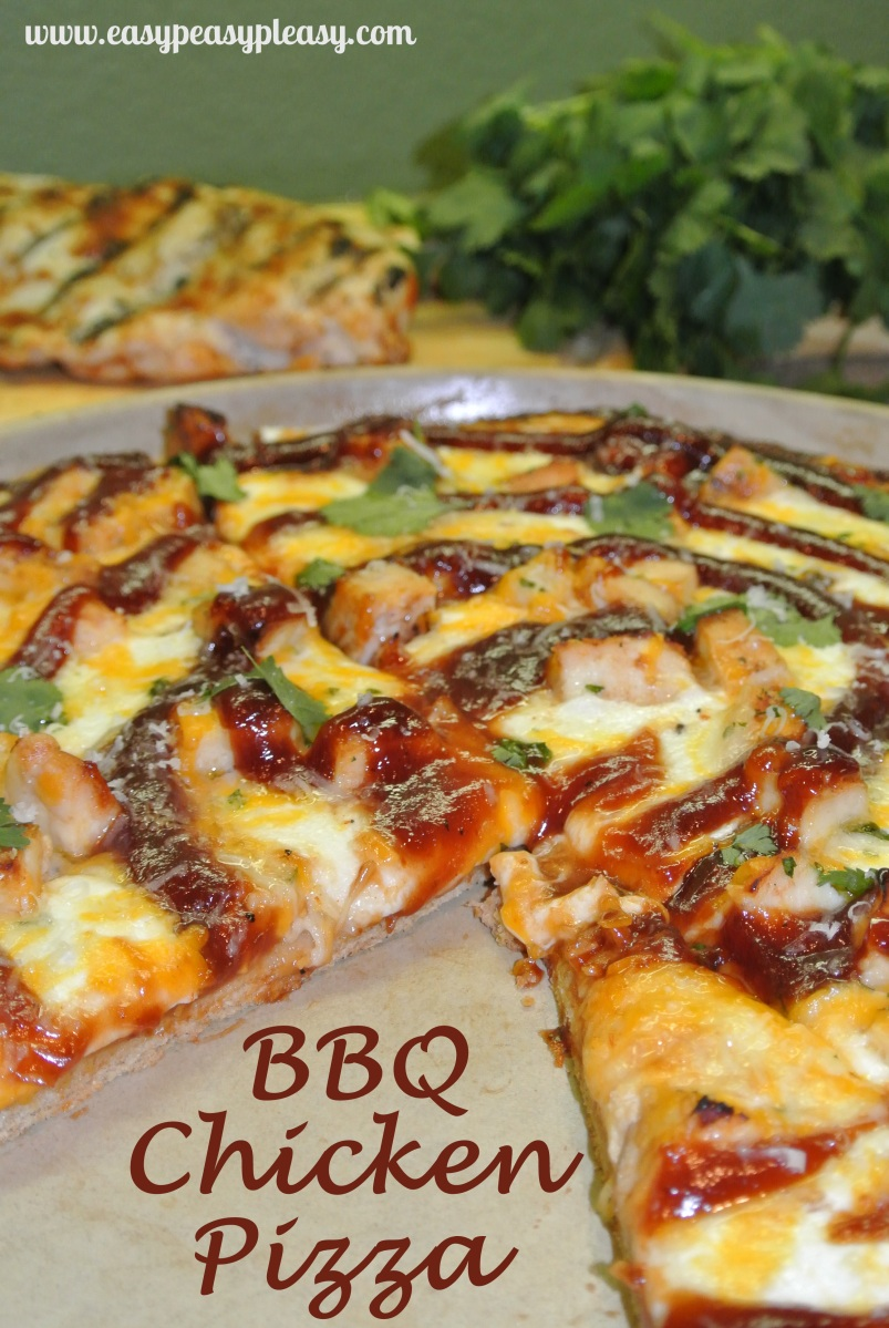 ... grilled chicken go to waste…make BBQ Chicken Pizza! | Easy Peasy