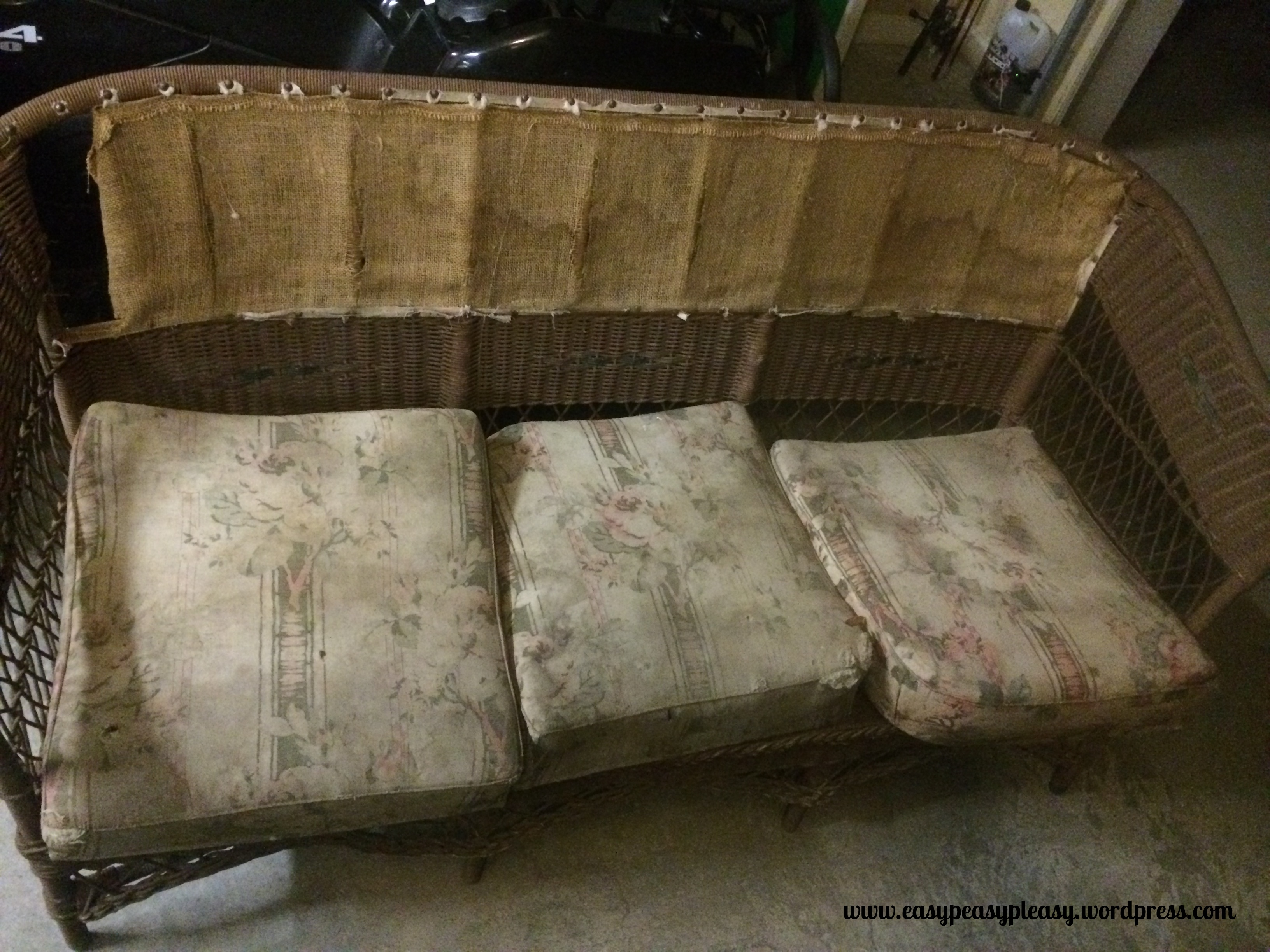 DIY Wicker Restoration