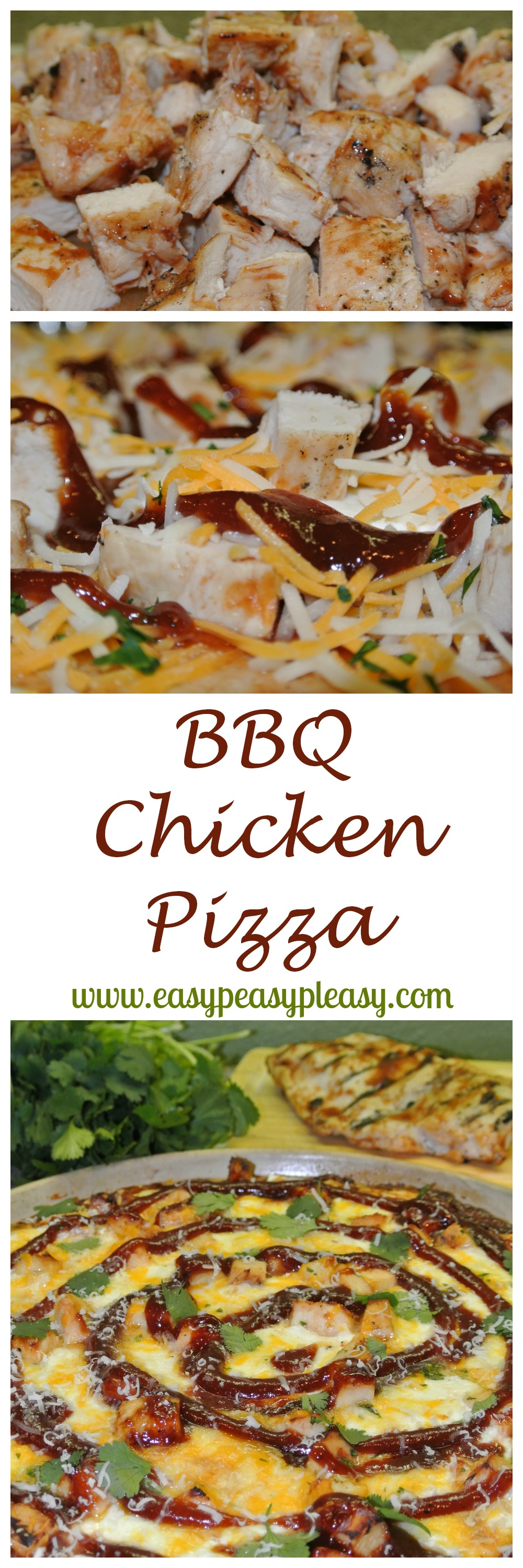 Don T Let That Leftover Grilled Chicken Go To Waste Make Bbq Chicken Pizza Easy Peasy Pleasy