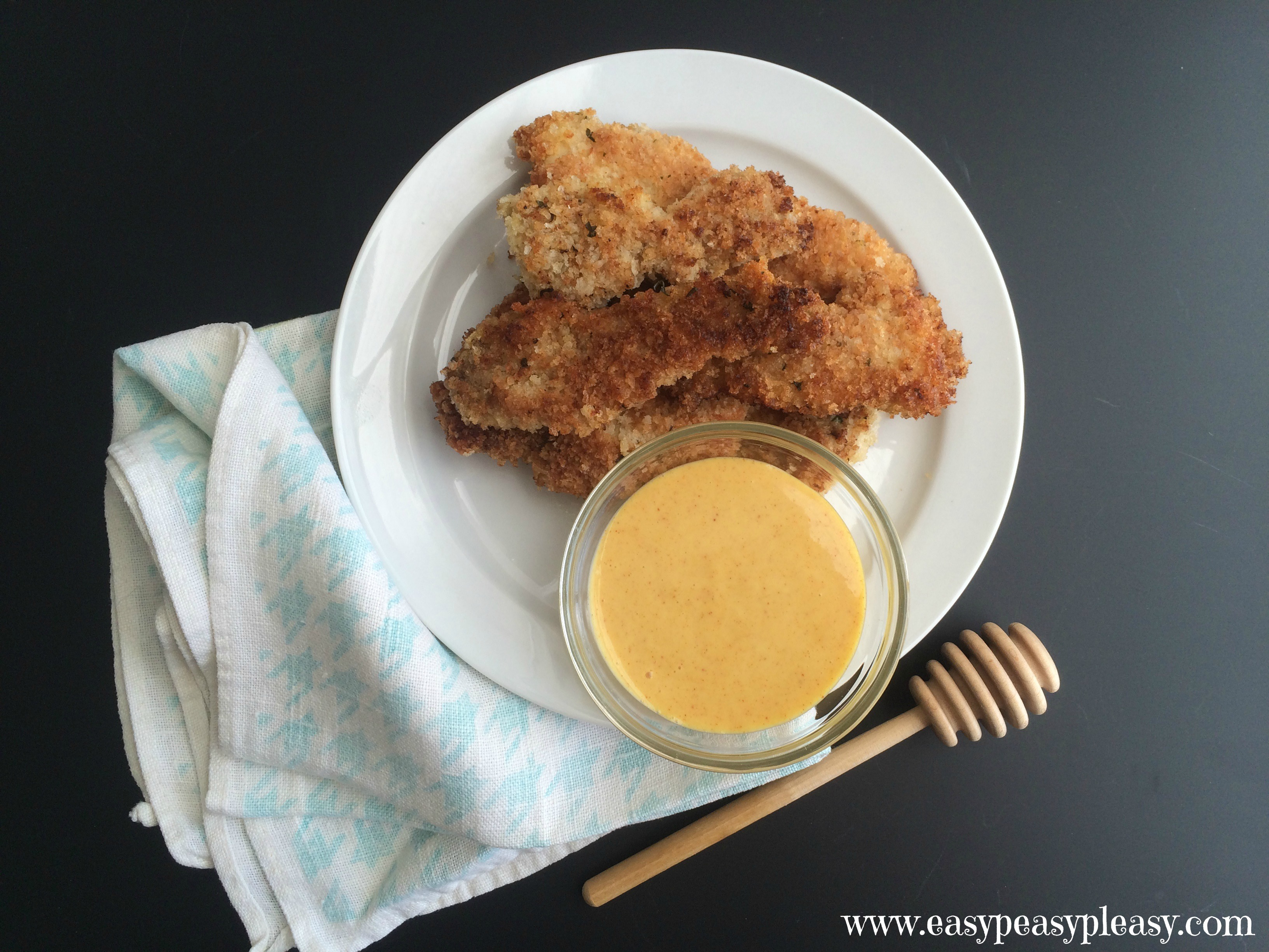 Delicious Honey Mustard Dipping Sauce using only 4 ingredients and ...
